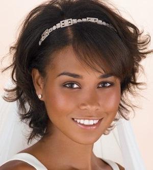 Peinado para novias con cabello corto novias bodas blog