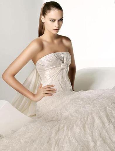 vestidos de novia sencillos. Vestido de novia divino y