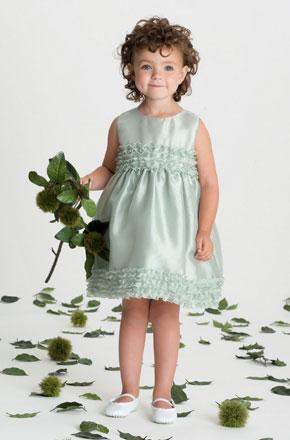 vestido de ceremonia nina3 Vestidos de Fiestas para Niñas