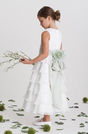 vestido de ceremonia nina42 Vestidos de Fiestas para Niñas
