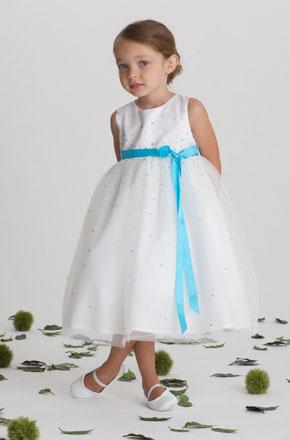 vestido de ceremonia nina5 Vestidos de Fiestas para Niñas