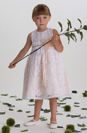 vestido de ceremonia nina6 Vestidos de Fiestas para Niñas