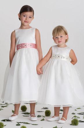 vestido de ceremonia nina8 Vestidos de Fiestas para Niñas