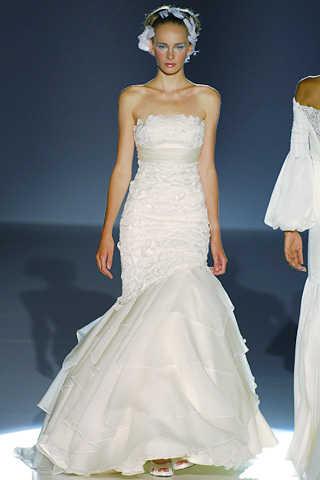 vestidos de novia sencillos. Colección de vestidos de novia